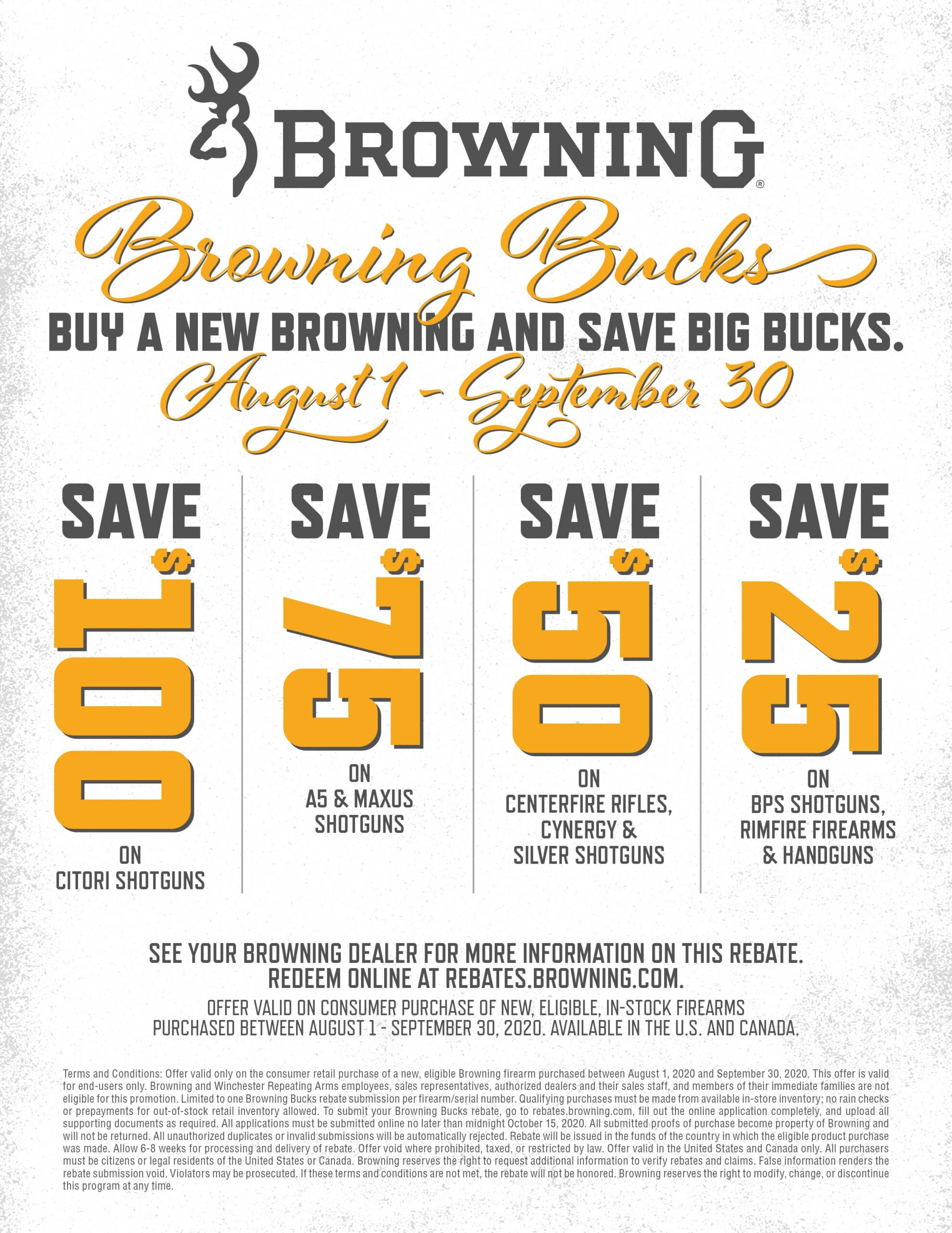 2020 Browning Bucks Promo August Kittles Outdoor Colusa
