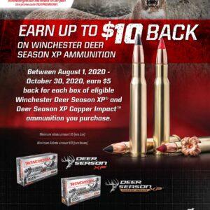 2020 Rebate - Winchester Deer Season 8-1-20 - 10-30-20 Kittles Outdoor Colusa