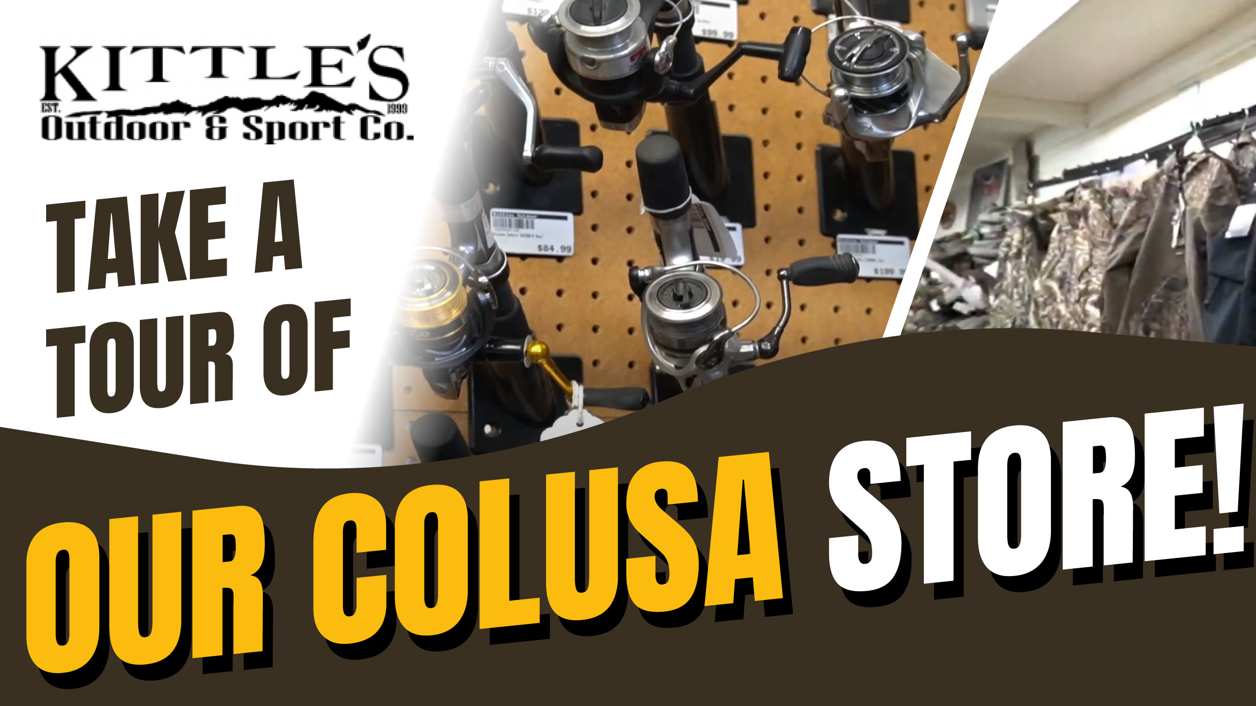 Kittles Colusa Sporting Goods - Best Fishing Hunting Camping Gear CA